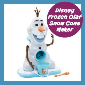 olaf snow cone machine